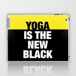 YOGA is the new black Laptop & iPad Skin