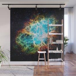 Crab Nebula Wall Mural