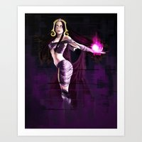 magic the gathering Art Prints featuring Liliana Vess Magic The Gathering by Anaelisch