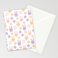Bunny Color Stationery Cards