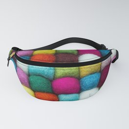 colored balls Fanny Pack