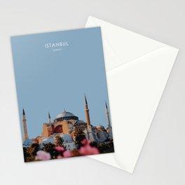 Hagia Sofia, Istanbul, Turkey Travel Artwork Stationery Cards