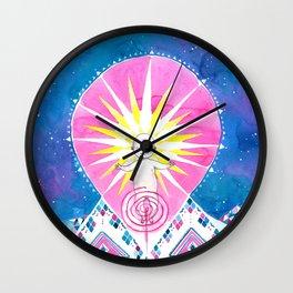 Sun of God Wall Clock