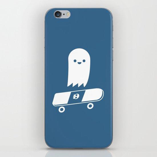 Skate Ghost iPhone & iPod Skin