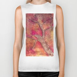 Tree of color Biker Tank