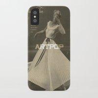 artpop iPhone & iPod Cases featuring ARTPOP by universemiller