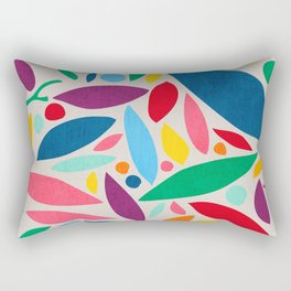 Found Objects Rectangular Pillow
