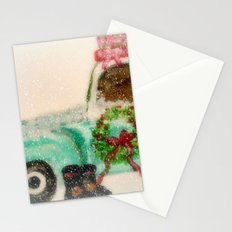 Santa's Ride Stationery Cards