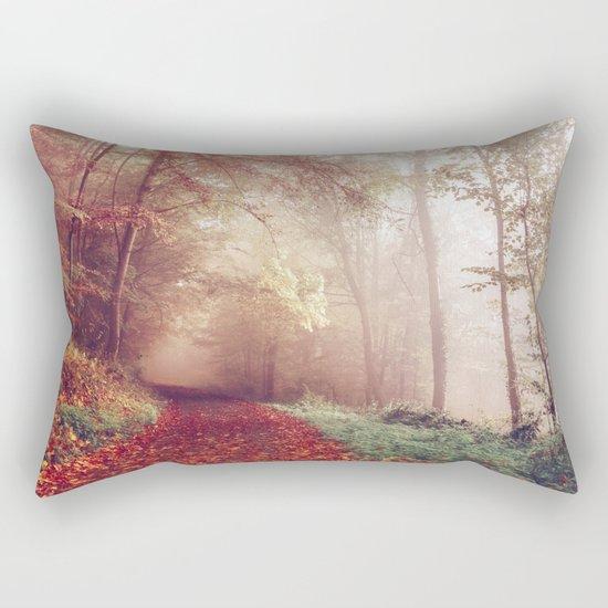 Road Less Traveled Rectangular Pillow