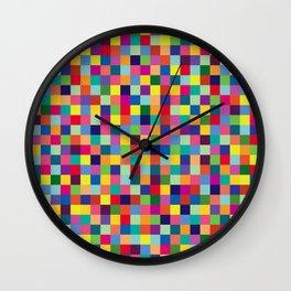 Geometric Pattern #5 Wall Clock
