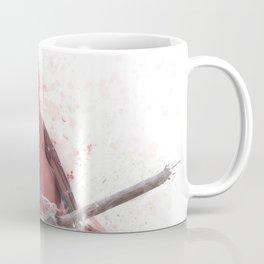 Digital Painting Of Male Northern Cardinal Coffee Mug