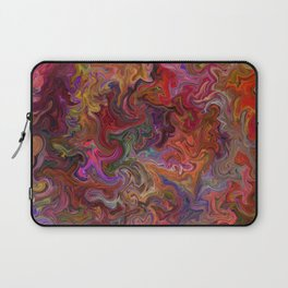 Psychedelic soup Laptop Sleeve