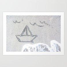 Our Love Summer I Art Print