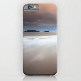 Rhossili bay Gower iPhone Case