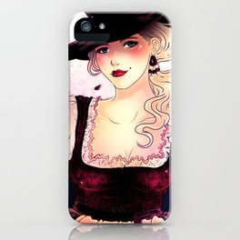 Oktoberfest Lady iPhone Case