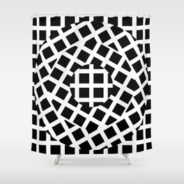 What Goes Around Comes Around 01 Shower Curtain