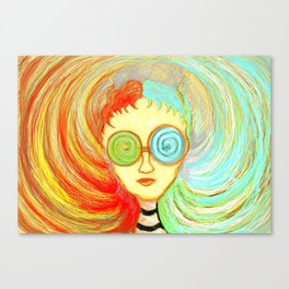 colourful mind Canvas Print
