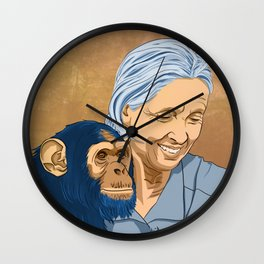 Dr. Jane Wall Clock
