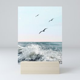 Into the Sea Mini Art Print