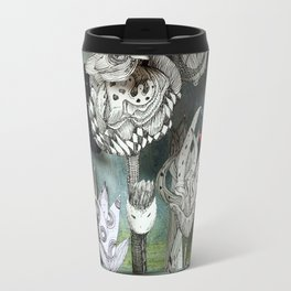The Garden of Forgotten Happiness diorama Travel Mug