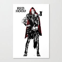 RED HOOD Canvas Print