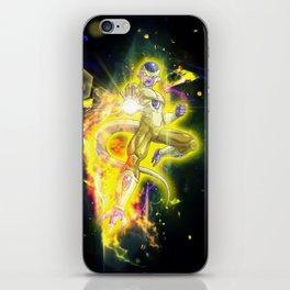 Golden Frieza iPhone Skin