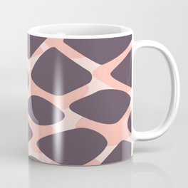 Pink and Plum Giraffe Animal Print Coffee Mug