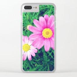 FlowerPower #16 Clear iPhone Case