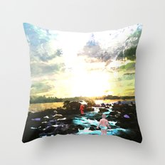 The Way Throw Pillow