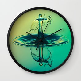 Water Drop Wall Clock