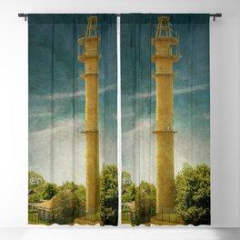 DE - Niedersachsen Old lighthouse in Schillig Blackout Curtain