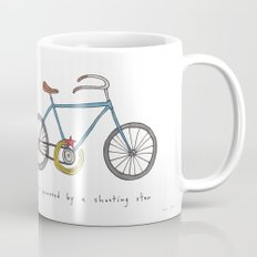 bicycle powered by a shooting star Coffee Mug