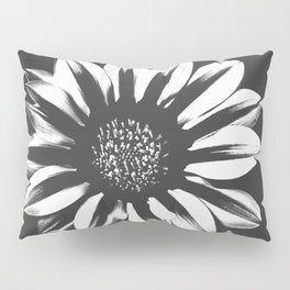 Dark Flower Pillow Sham