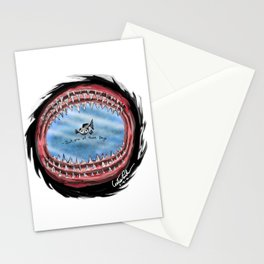 Sharks and Minnows Stationery Cards