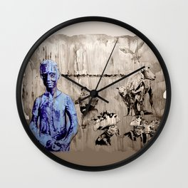 MARN HOL FAST - contract work and... Wall Clock