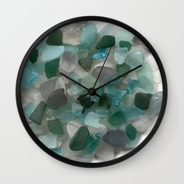 An Ocean of Mermaid Tears Wall Clock