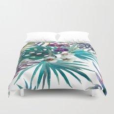 Tropical Floral Pattern 04 Duvet Cover