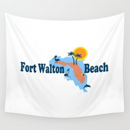 Fort Walton Beach. Wall Tapestry