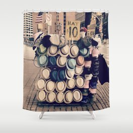Fedorable Shower Curtain