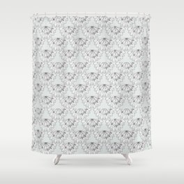 Vintage Scalloped Shower Curtain