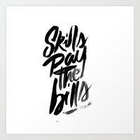 motivational Art Prints featuring Motivational by Motivational