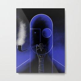 Cassandre styl trachea by squidymoon Metal Print
