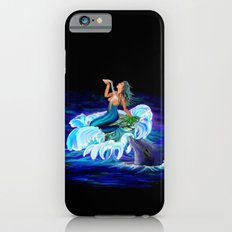 Mermaid with Dolphin iPhone 6s Slim Case