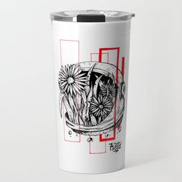 Floralnaut Travel Mug