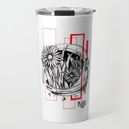 Floralnaut Travel Mug