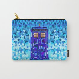 Phone booth Tardis doctor who cubic art iPhone 4 4s 5 5c 6, pillow case, mugs and tshirt Carry-All Pouch