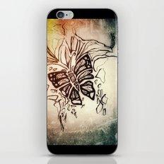 Winter textures iPhone Skin