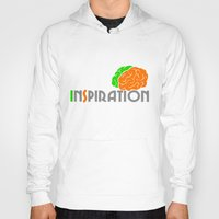 inspiration Hoodies featuring Inspiration by Todd Trotter