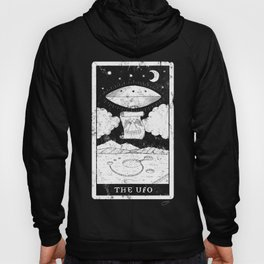 'The UFO' Tarot Card Hoody