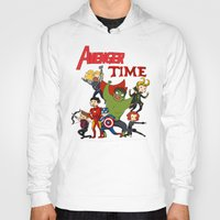 avenger Hoodies featuring Avenger Time! by ArtisticCole